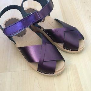 Hanna Anderson Purple Clogs 32 / US 1 New
